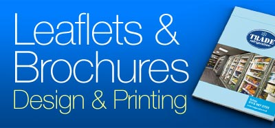 leaflets design and print