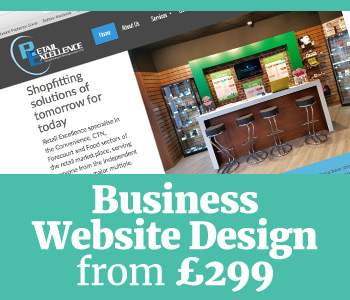 business websites designed, built and hosted