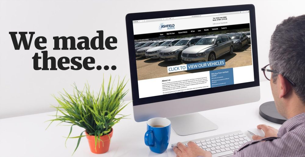 We make websites for new and used vehicle companies