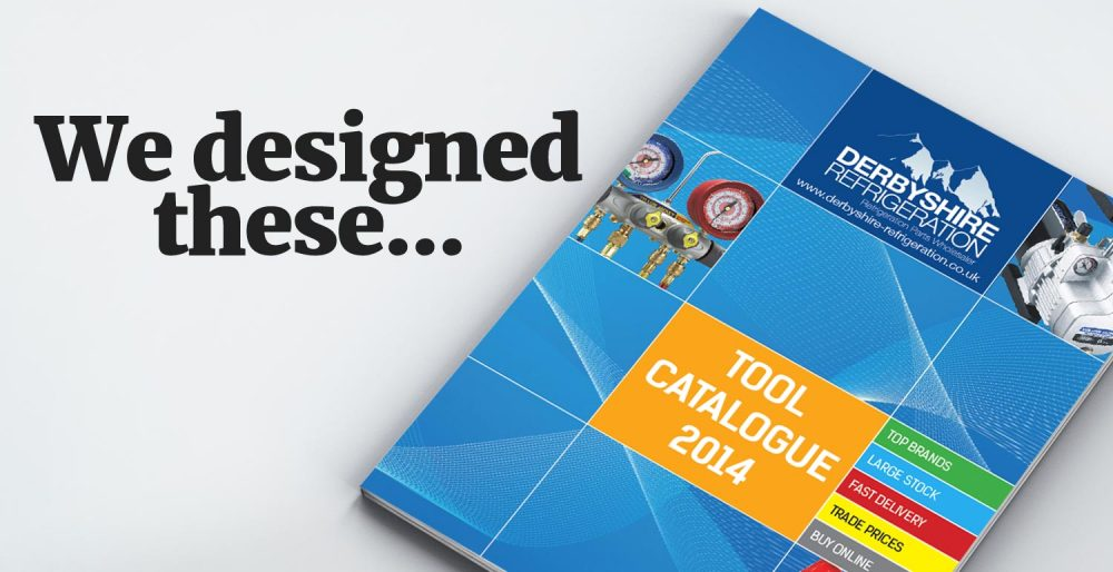 We design product catalogues and brochures