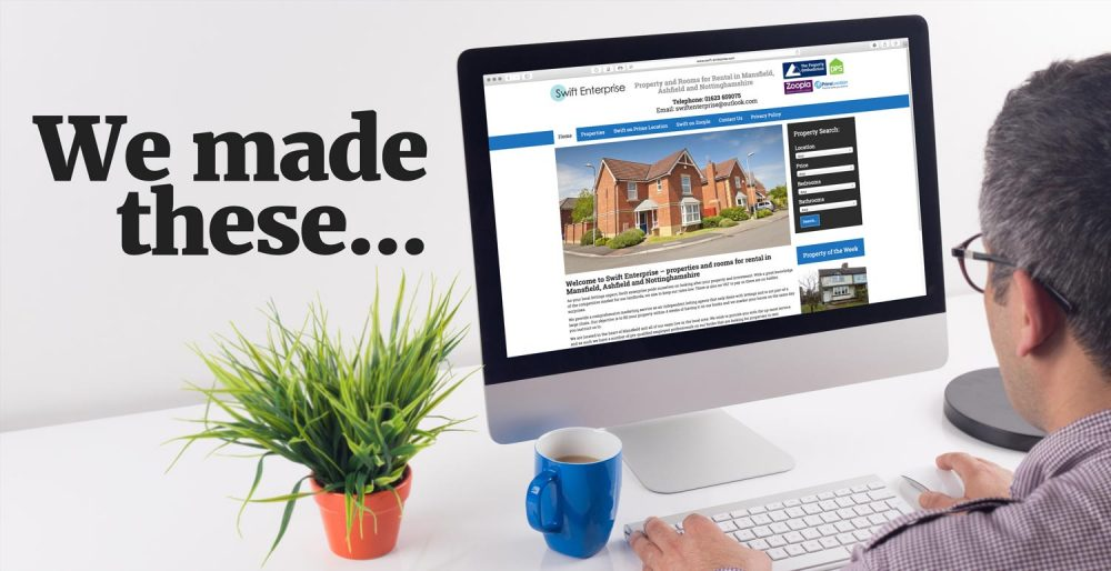 We make websites for property companies and property developers